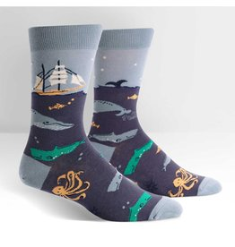 SOCK IT TO ME - Men's Sea Voyage Crew Socks