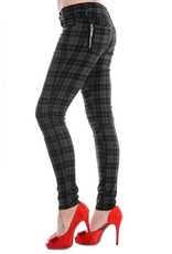 BANNED - Checkered Grey Pants