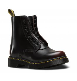 DR. MARTENS 1460 PASCAL FRNT ZIP CHERRY RED ARCADIA 815FZRUB-R24330600