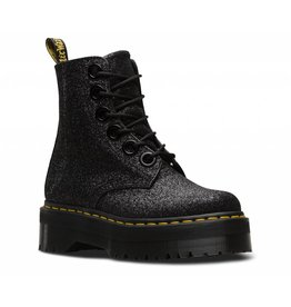 DR. MARTENS MOLLY GLTR BLACK GLITTER (0.3MM) 653GB-R24331001