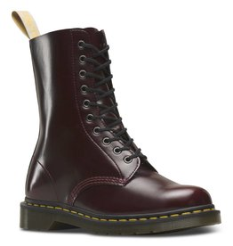DR. MARTENS 1490 VEGAN CHERRY RED CAMBRIDGE BRUSH 1000VECA-R23983600