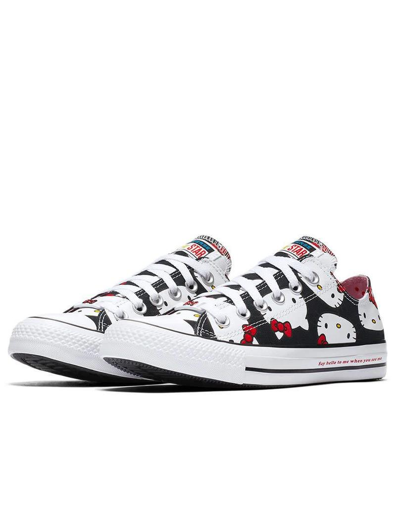 CONVERSE CHUCK TAYLOR OX BLACK HELLO KITTY C12HKB-162947C