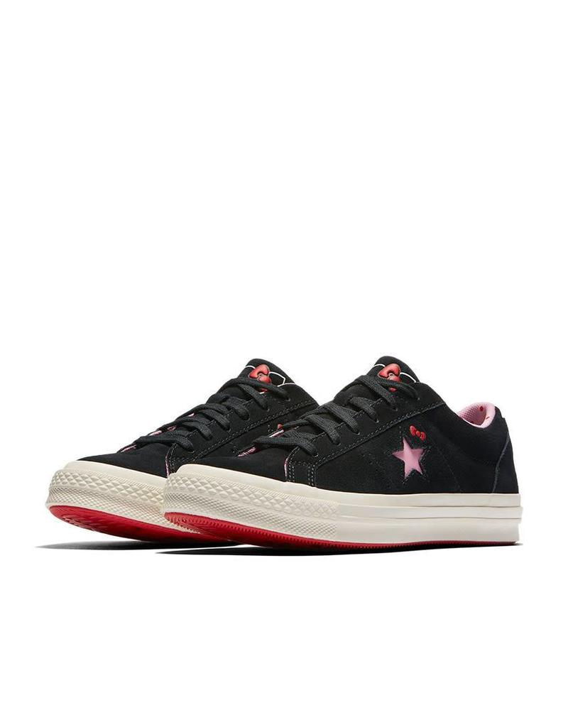 CONVERSE ONE STAR OX BLACK HELLO KITTY C887HKB-162938C