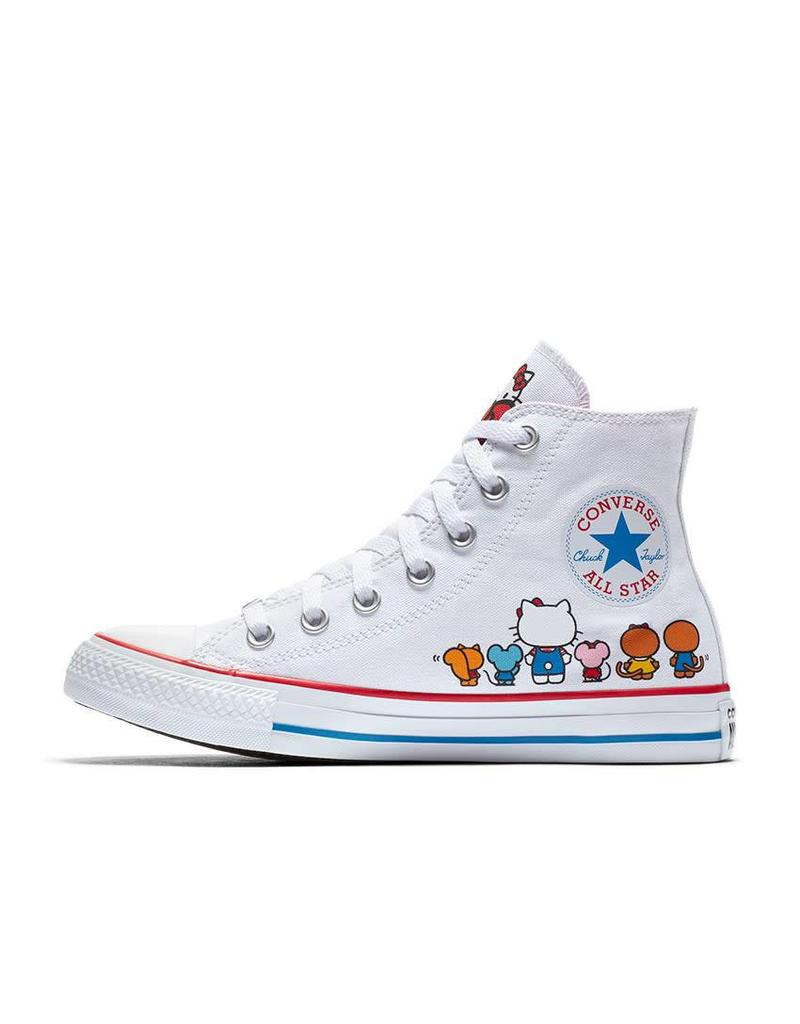 CONVERSE CHUCK TAYLOR HI WHITE HELLO KITTY C18HKW-162944C