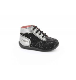 KICKERS BONBON NOIR METALLIQUE KR3NM 18H446826-10+83