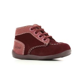 KICKERS BONZIP BORDEAUX ROSE KR4BOR 18H653090-10+183