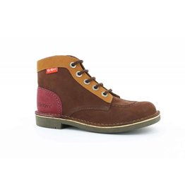 KICKERS KICK COL MARRON CAMEL BORDEAUX K1885MCB 18H393438-30+92