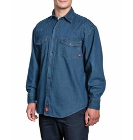 DICKIES Longsleeve Denim Work Shirt
