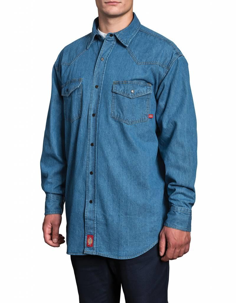 DICKIES Longsleeve Denim Work Shirt