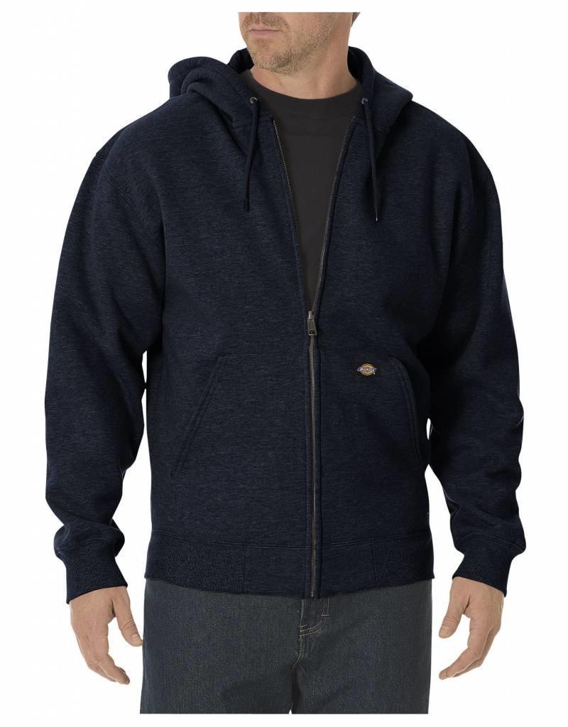 DICKIES Men's Fleece Full Zip Hooded Sweatshirt TW391
