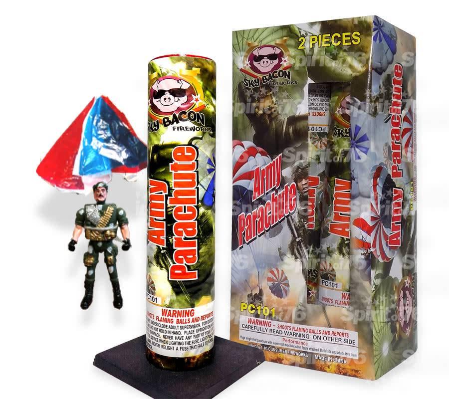 Sky Bacon Army Parachute - Box 2/1