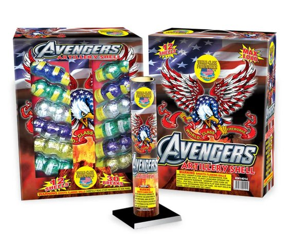 World Class Avengers Shells