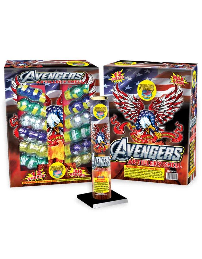 World Class Avengers Shells