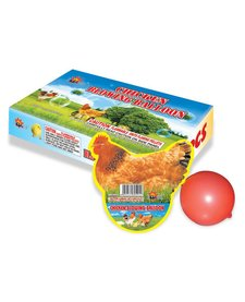 Chicken Blowing Balloon