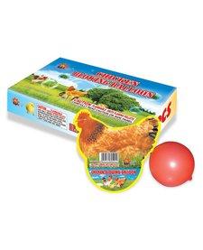 Chicken Blowing Balloon