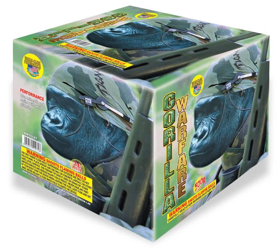 World Class Gorilla Warfare - Case 4/1