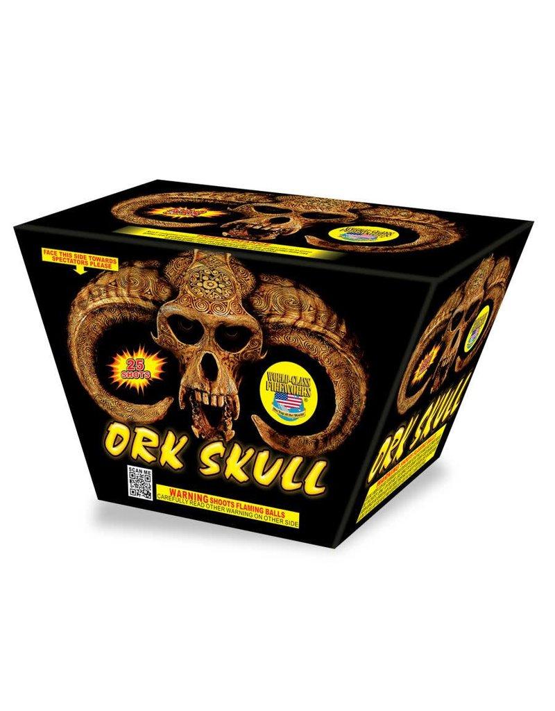 Ork Skull Firework by World Class - AAH - AAH Fireworks