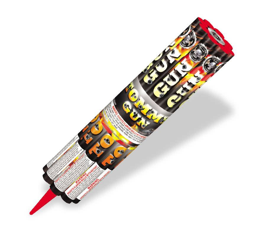 Cutting Edge Rapid Fire Candle w/ Launcher, CE - Pack 8/1