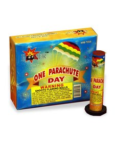 Single Day Parachute, BM - Pack 6/1