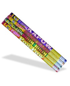 Roman Candle Assorted 5 Ball, WC - Case 18/4