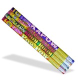 World Class Roman Candle Assorted 5 Ball, WC - Pack 4/1