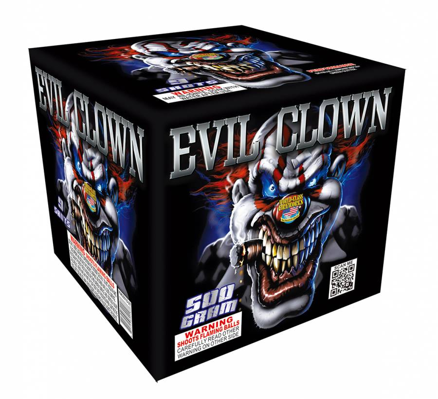 World Class Evil Clown, 500g, WC