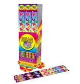 World Class Fluorescent Sparklers 14'', WC - Pack 4/1