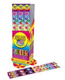 Fluorescent Sparklers 14'', WC - Pack 4/1
