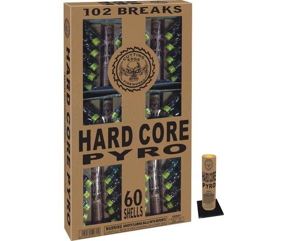 Cutting Edge Hard Core Pyro, CE - 60 shells