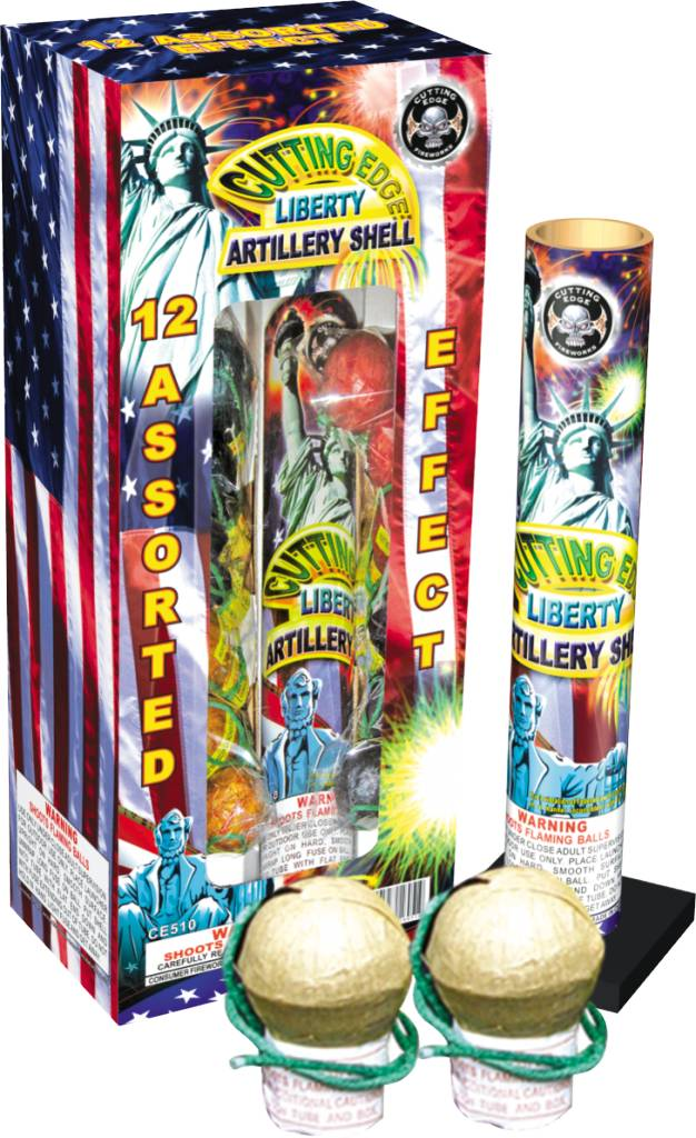 Cutting Edge Liberty Artillery Shells 12pk - Case 12/12
