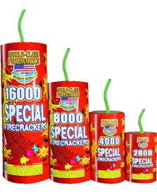 Special Crackers 16,000s, WC - Case 1/16000
