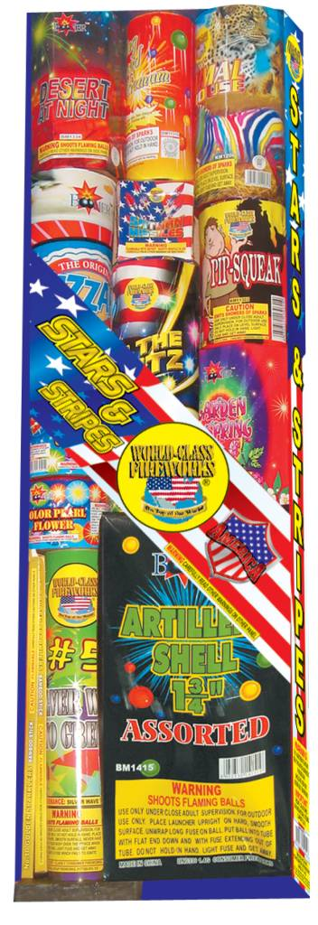 World Class Stars & Stripes Assortment