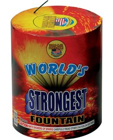 World's Strongest Fountain