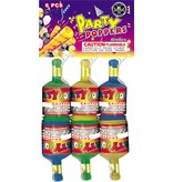Cutting Edge Champagne Party Poppers, CE - Pack 6/1