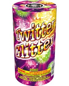 Twitter Glitter Large, CE - Case 18/4