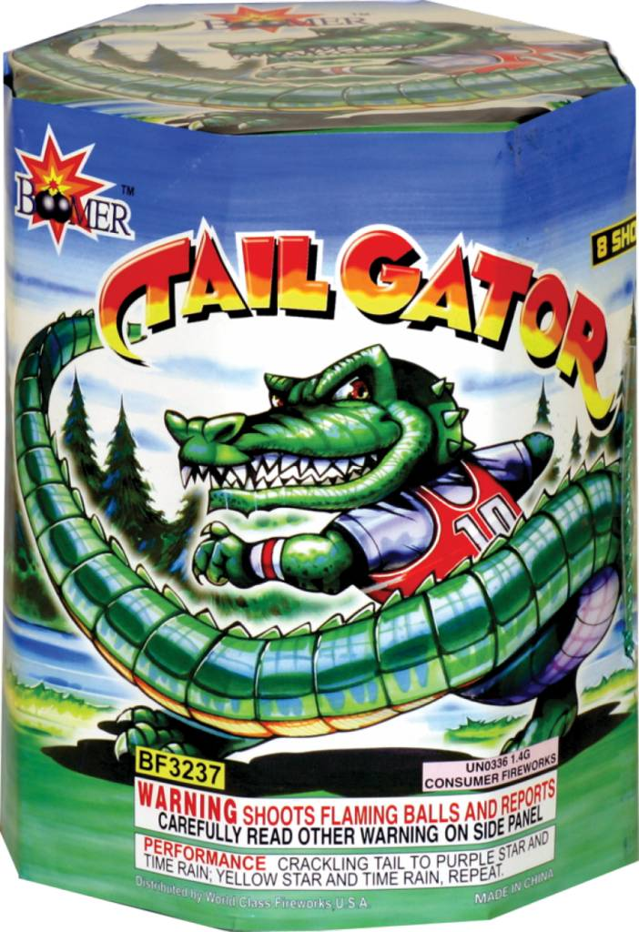 Boomer Tail Gator - Case 24/1