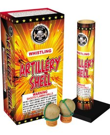 Whistling Artillery Shell, CE