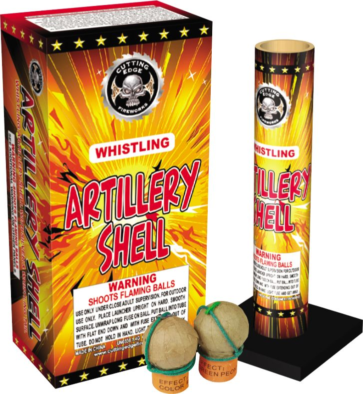 Cutting Edge Whistling Artillery Shell, CE - Box 6/1
