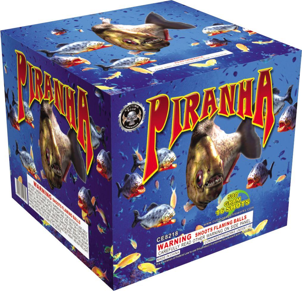 Cutting Edge Piranha - Case 4/1