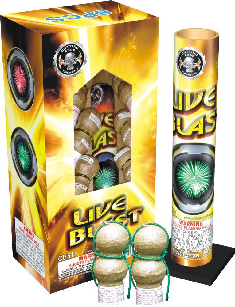 Cutting Edge Live Blast (Double Break) - 8 shells