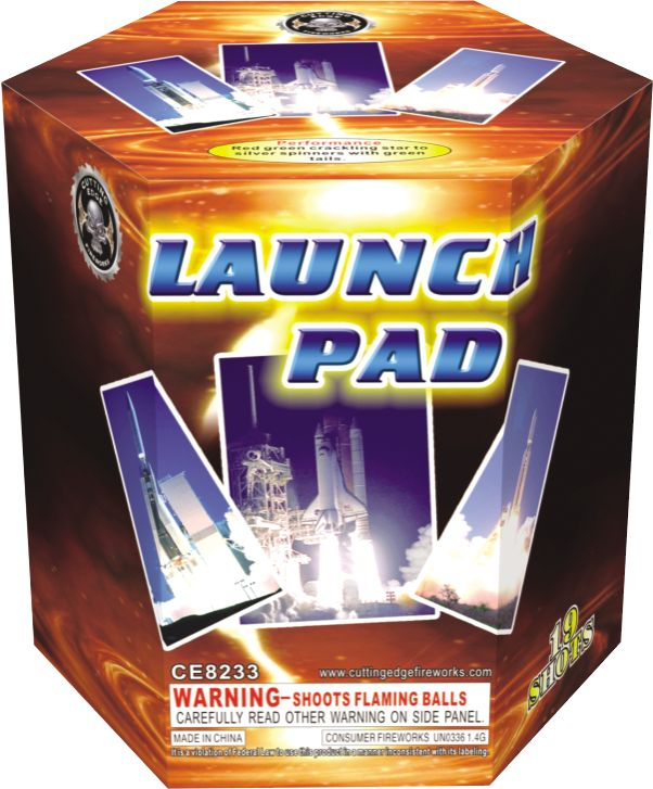Cutting Edge Launch Pad - Case 24/1