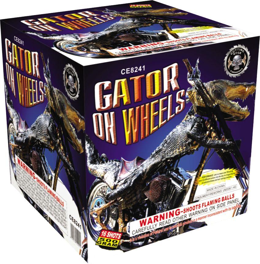 Cutting Edge Gator On Wheels - Case 4/1