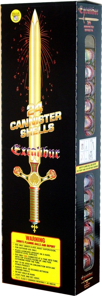 World Class Excalibur 60 Gram Canister - Case 6/24