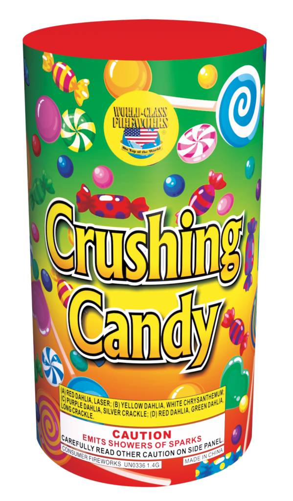 World Class Crushing Candy - Case 16/1