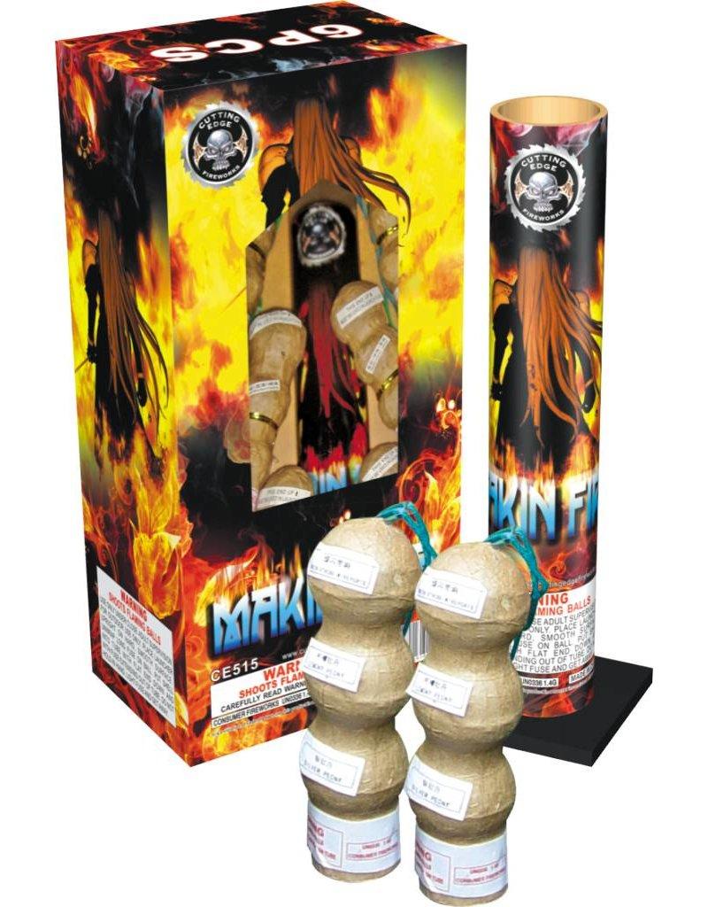 Cutting Edge Makin Fire Triple Breaks 6pk - Case 12/6