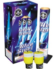 Blue Steel Canister Shells 8pk - Case 12/8