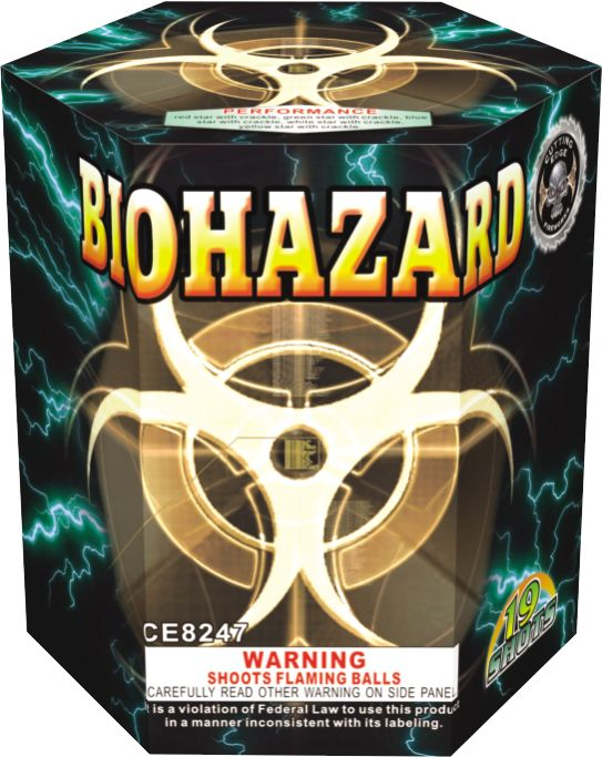Cutting Edge Biohazard - Case 12/1