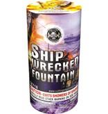 Cutting Edge Ship Wreck Fountain