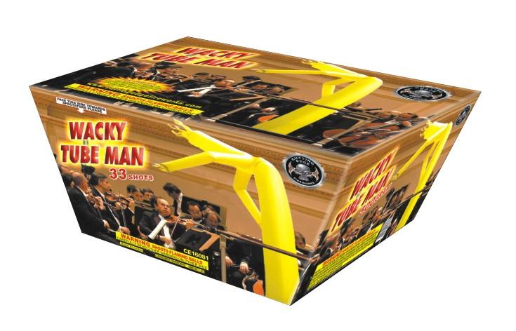 Cutting Edge Wacky Tube Man - Case 4/1