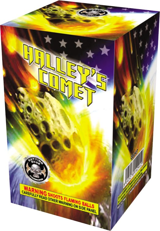 Cutting Edge Halley's Comet